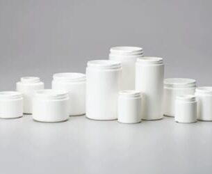 HDPE PP Straight Sided Jars